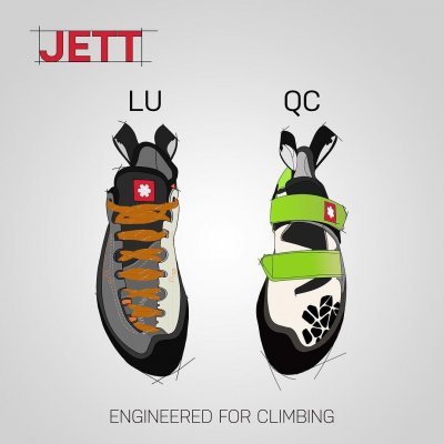 Jett is a shoe designed with a goal to combine performance with comfort. It has precisely fitting shape, CAT 1.5 sticky sole, seamless heel and breathable tongue. Jett is aimed for climbers who want to improve without unnecessary suffering. You can choose between a quick closure and lace up option.  #ocun #engineeredforclimbing #jett #climbing #climbingshoes  #climbingequipment #climbingismypassion